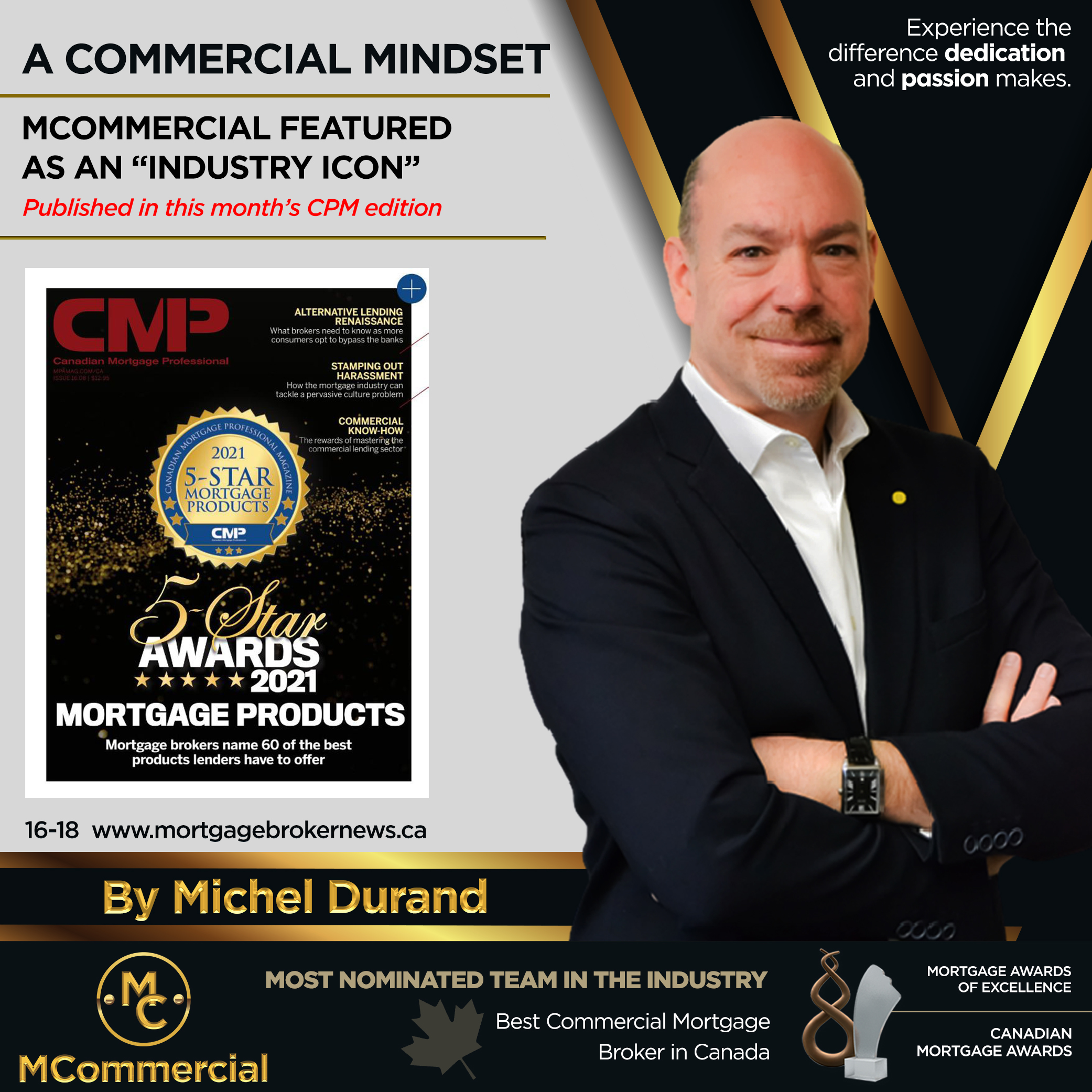 """Featured image for """"""""Industry Icon"""" named by the CMP Magazine"""""""